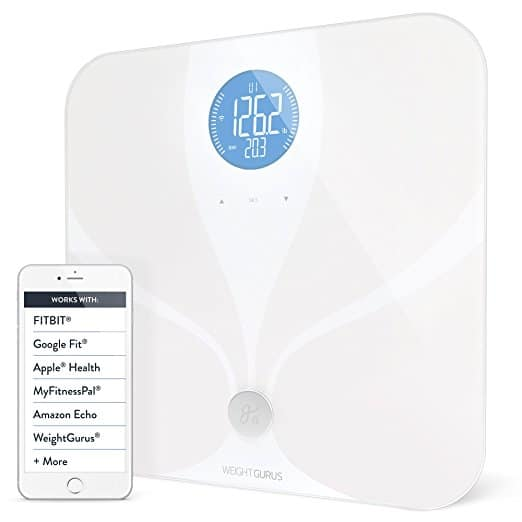 Weight Gurus Wifi Smart Connected Body Fat Scale