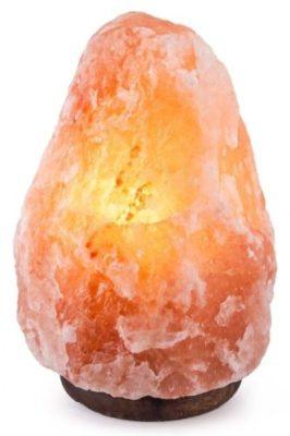 Crystal Decor Natural Himalayan Lamp