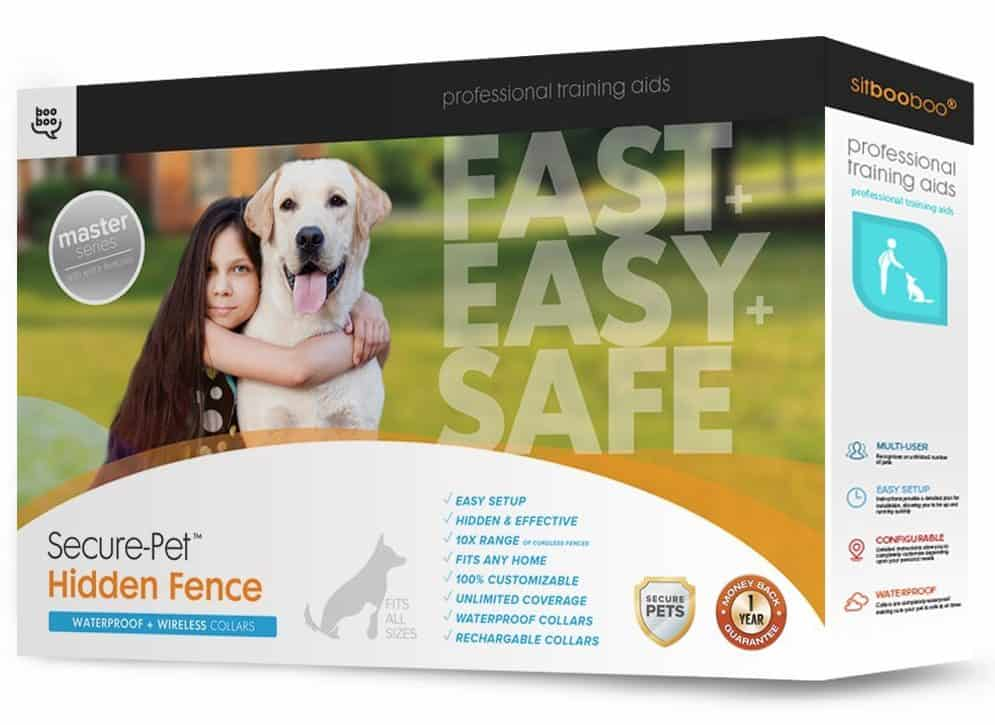 Hidden Dog Fence By Sit Boo-Boo - Wireless Dog Fence