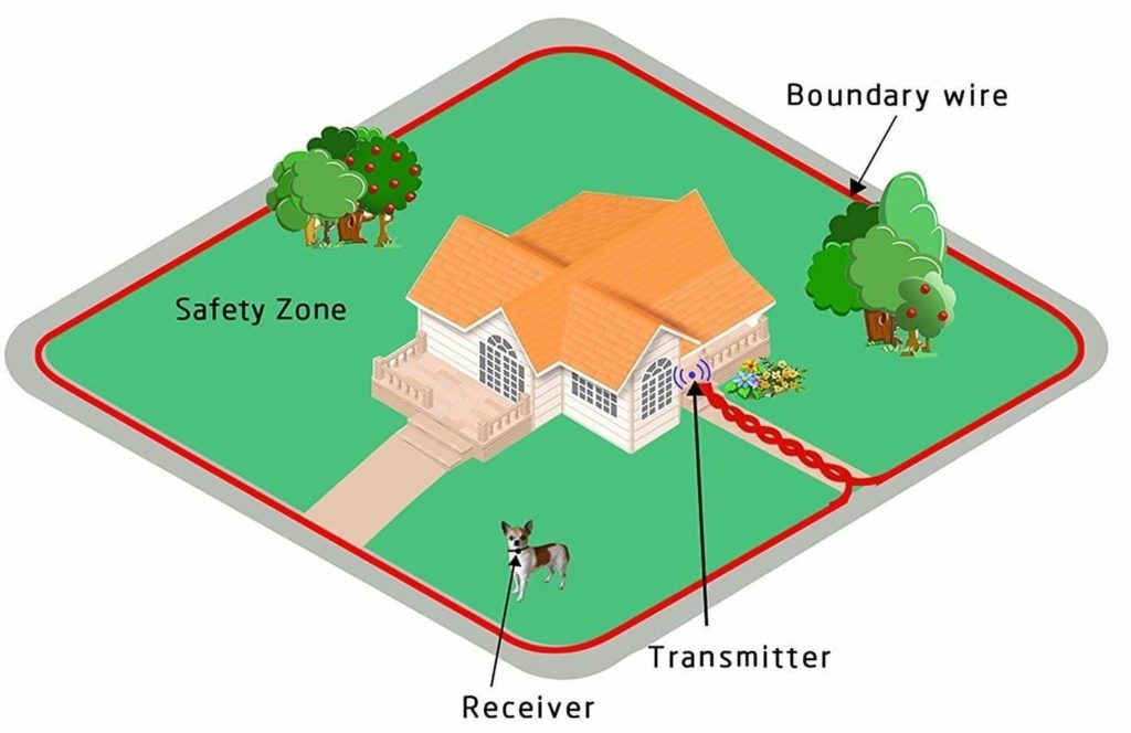 in ground wireless dog fence - wireless dog fence