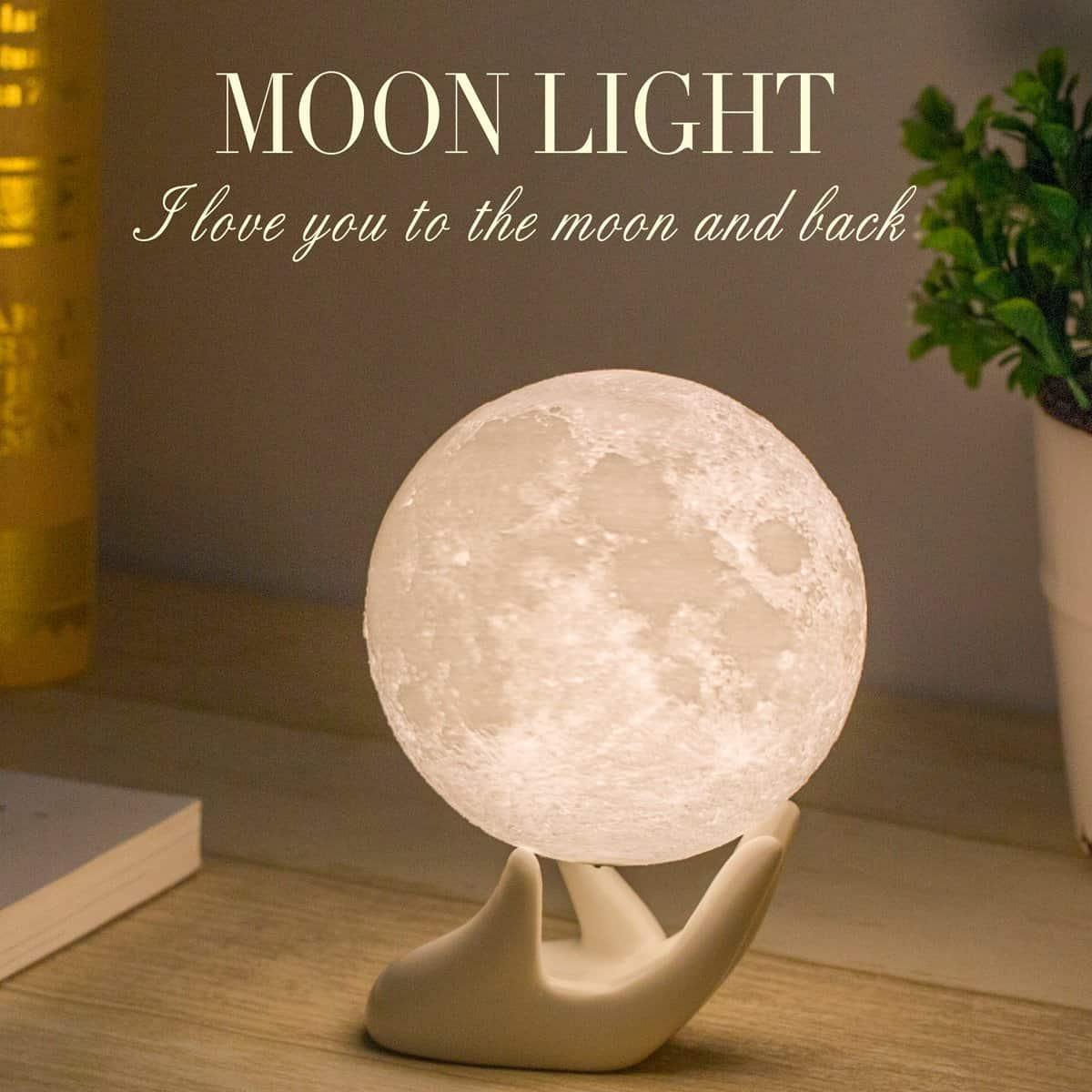 Mydethun Moon Lamp Moon Light Night Light