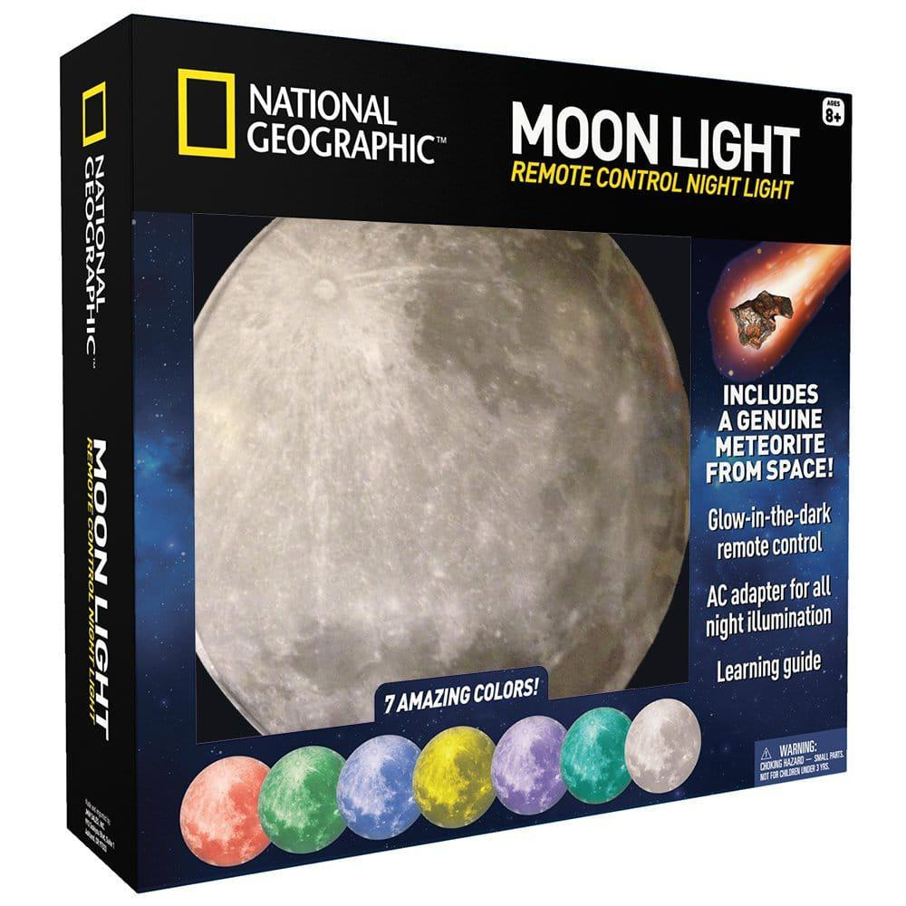 NATIONAL GEOGRAPHIC Moon Night Light for Children