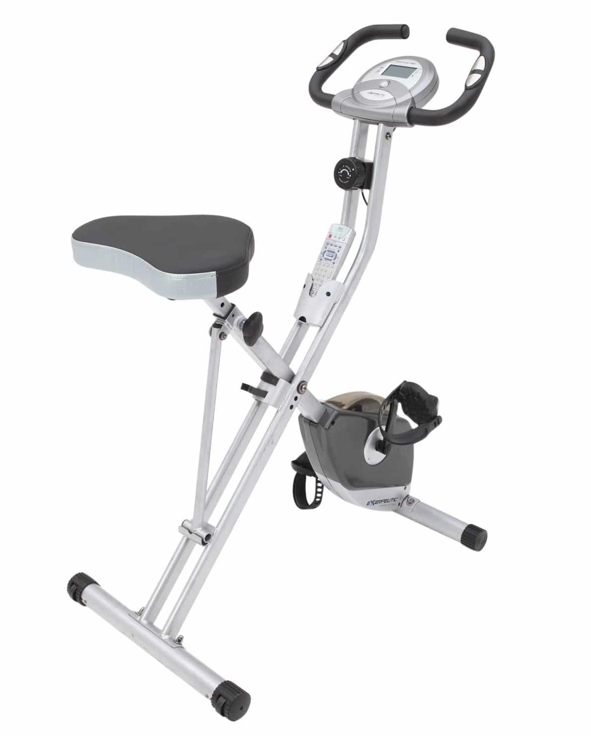 Exerpeutic Folding Magnetic Bike with Pulse