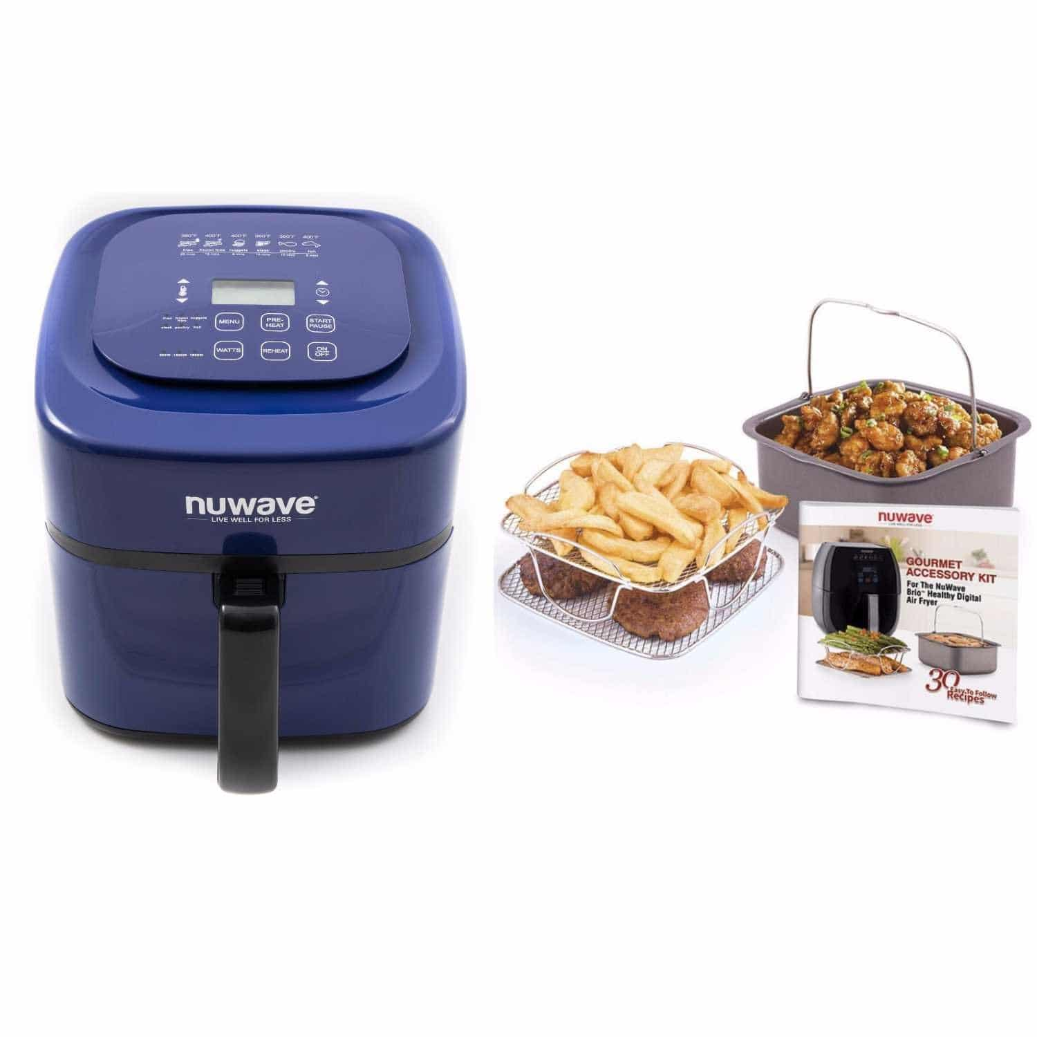 Blue Nuwave 6 qt. Brio Air Fryer