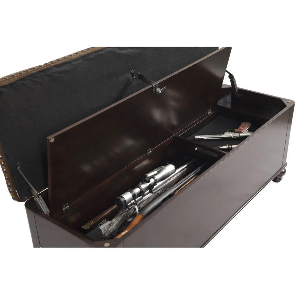 hidden gun storage furniture
