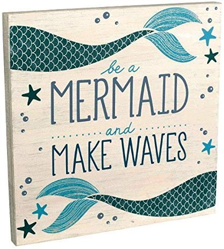 mermaid room decor wall art