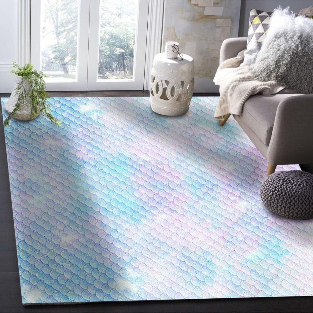 mermaid rug idea